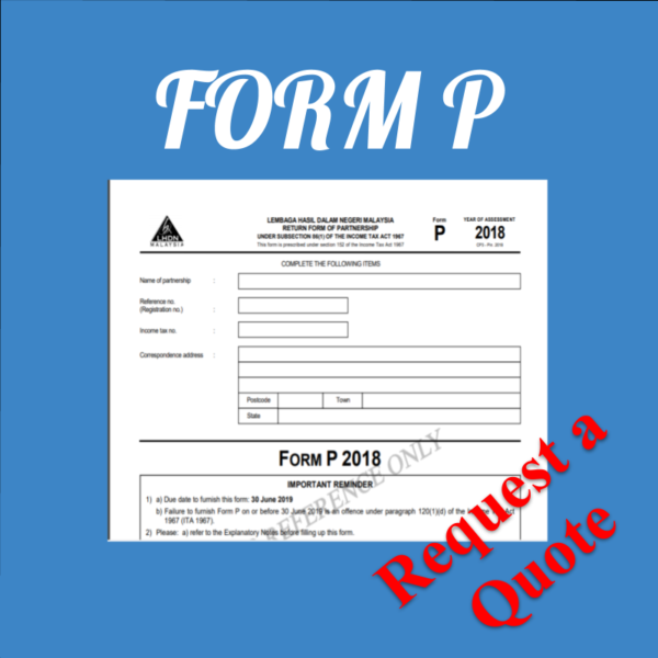 Taxation Form P