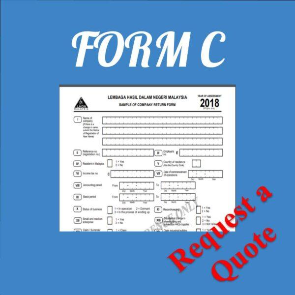 Taxation Form C