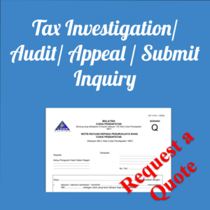 Tax Investigation/ Audit/ Appeal